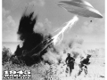 WWII U.S. MARINES BLAST PILLBOX