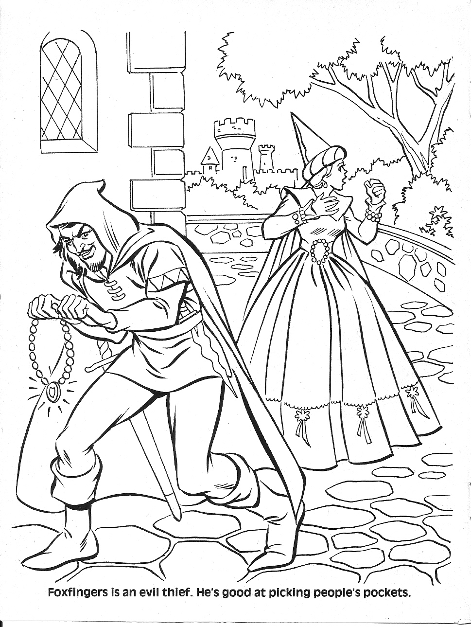 dungeons and dragons coloring pages - photo #25