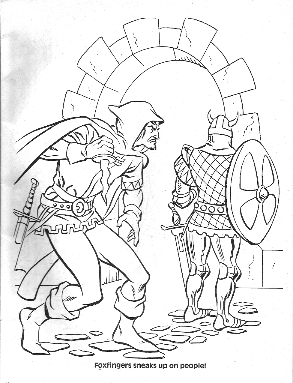 dungeons and dragons coloring pages - photo #33