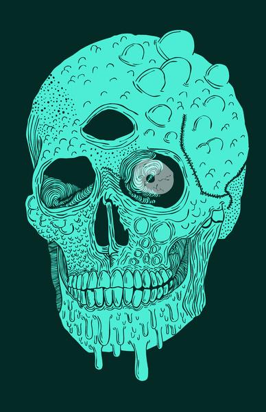 beetle-skull
