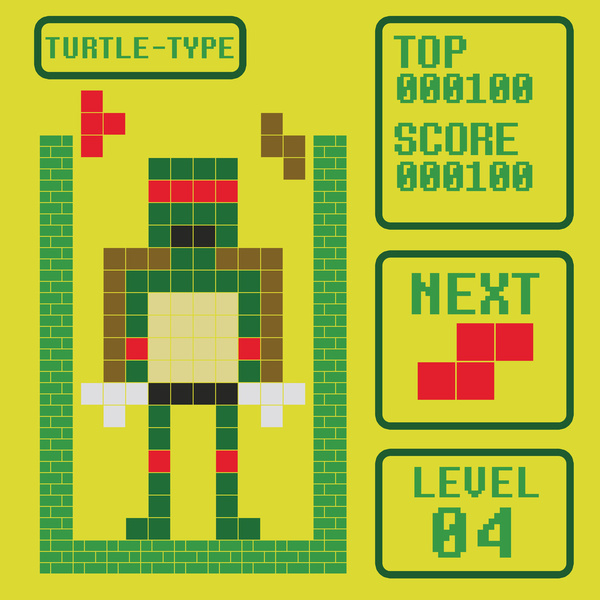 tetris-turtle
