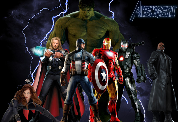 The Avengers Kadro