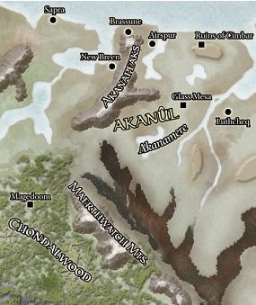 Akanul Map