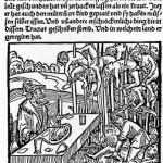 1499'da Almanya'da yapılmış, Vlad Dracula'ya dair bir ağaçbaskı gravür.