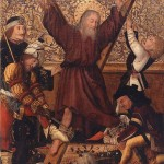 Almanca kitaplardan Dracula'nın Aziz Andrew'e eziyeti 1470-80 dolayları