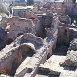 Drakula'nın yaptırdığı Targovişte'deki prenslik sarayı. 15. yüzyıl.