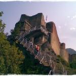 Drakula'nın yeniden inşa ettirdiği Poenari Kalesi, 15. yüzyıl.
