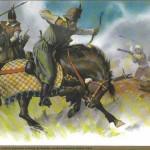 Eflaklılarla Osmanlıların Savaşına Dair Bir İllüstrasyon (20. yy)