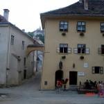 Sighişoara'da Vlad Drakula'nın doğduğu ev.