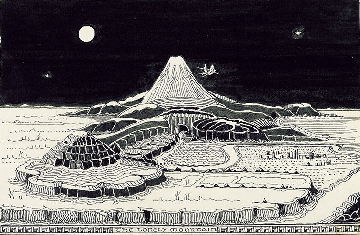Lonely-Mountain-tolkien