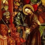 Vlad Dracula'yı, Hz. İsa'yı yargılayan Roma valisi Pontius Pilate olarak göstermekte. 1463 yılına ait, Slovenya-Ljubljana Ulusal Müzede sergilenmekte.