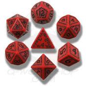 Runic Kırmızı & Siyah
