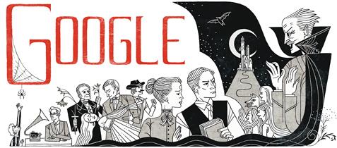 google-bram-stoker-doodle
