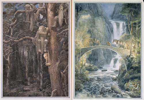 hobbit-illustrasyon