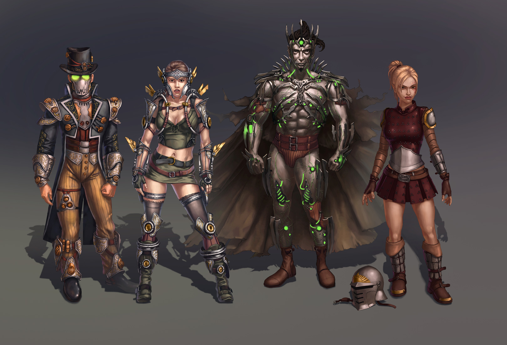city-of-steam-characters