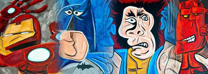 Süper Kahramanların Picasso Yorumu