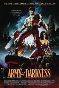 Army of Darkness filminin afişi