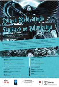 Dünya Edebiyatında Fantazya ve Bilimkurgu Afiş