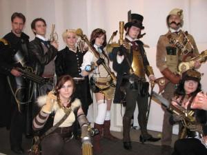 Steampunk Cosplay Grubu