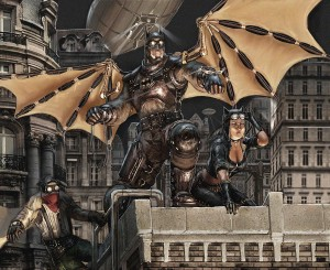 Steampunk Batman