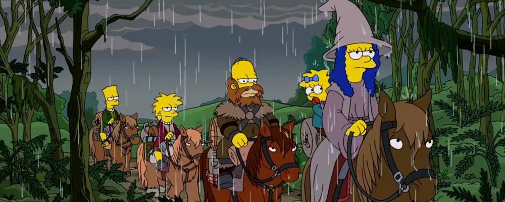 The Simpsons - Hobbit Intro
