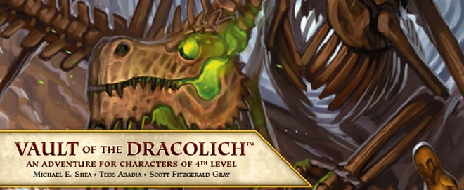 Vault of the Dracolich Banner