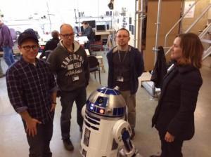 Star Wars VII'den ilk fotoğraf