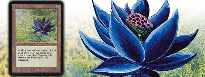 Alpha Black Lotus banner