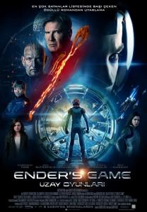 Ender's Game Uzay Oyunları afişi