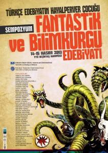 Fantastik ve Bilimkurgu Edebiyatı Sempozyumu afiş