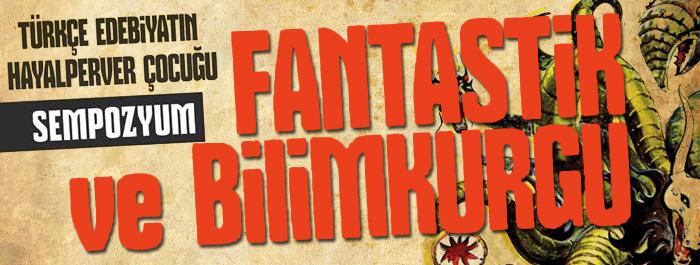 Fantastik ve Bilimkurgu Edebiyati Sempozyumu banner