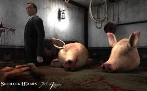 Sherlock Holmes ve Jack The Ripper Mutfak