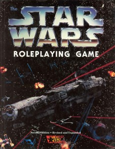Star Wars Roleplaying Game book