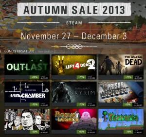 Steam - Autumn Sale 2013