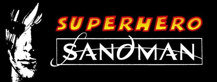 Superhero Sandman banner