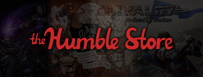 The Humble Store banner