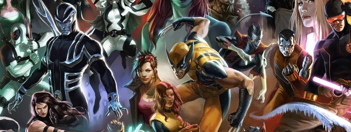 X-men Karakterler