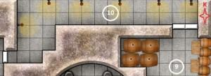 9 ve 10 No'lu Odalar - Depo ve Koridor