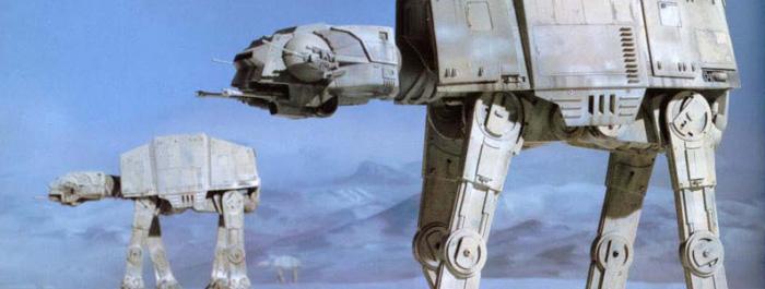 Star Wars AT-AT banner