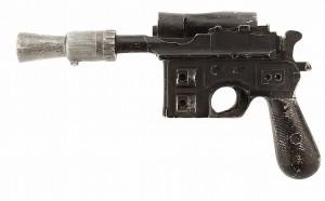 Han Solo'nun DL-44 modeli blaster silahı