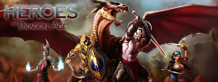 Heroes of Dragon Age banner