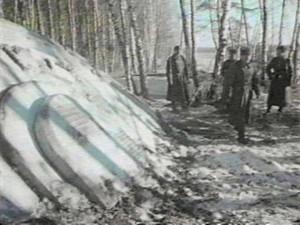 Rusya'daki UFO kazasından bir fotoğraf