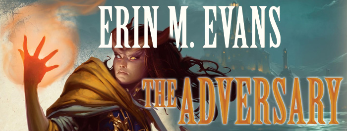 The Adversary - Erin M. Evans banner