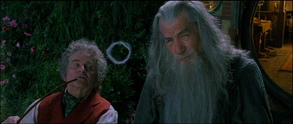 Gandalf ve Bilbo