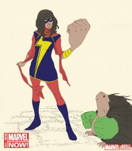 ms-marvel-drawing