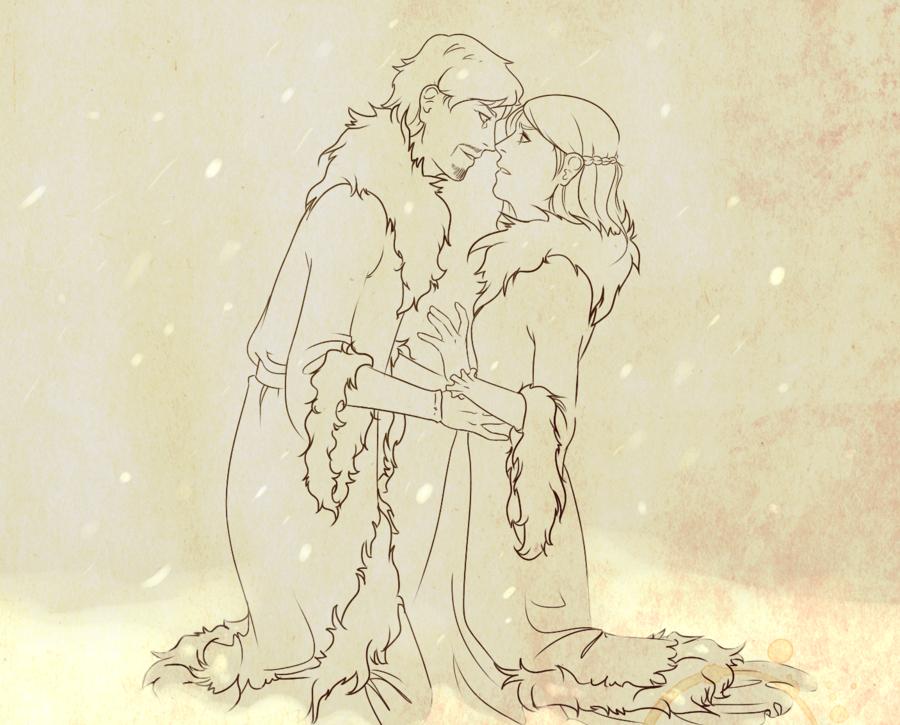 Petyr ve Sansa 2