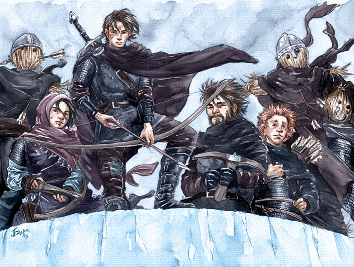 The Wall is yours Jon Snow