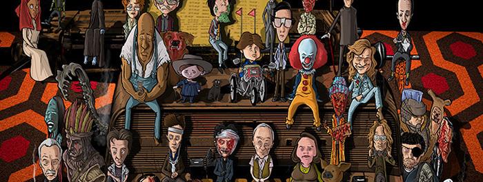Stephen King Eserlerinden İlham Alan Çizimler