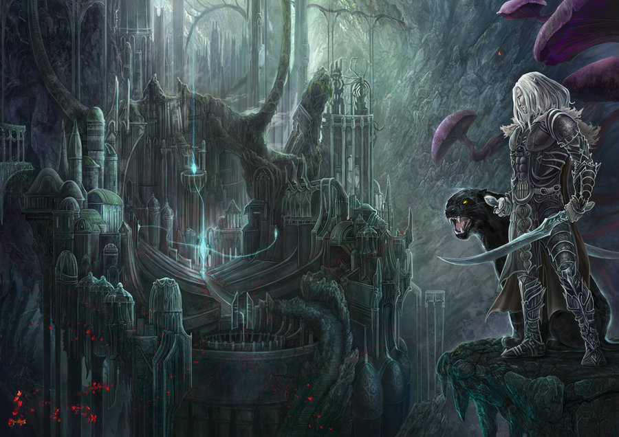 Drizzt-Do__Urden_by_ertacaltinoz