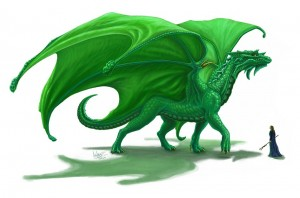 emerald-dragon